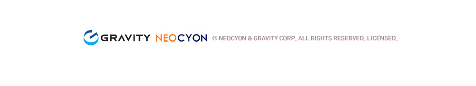 © NEOCYON & GRAVITY CORP. ALL RIGHTS RESERVED. LICENSED.